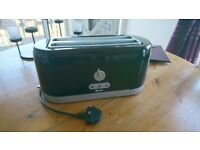 Swan Retro 4 slice Toaster - Black (lightly used)
