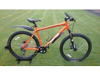 SHOWROOM CONDITION 2016 MENS KONA BLAST HYDRAULIC DISC SPEC MOUNTAIN BIKE * FULLY SERVICED *