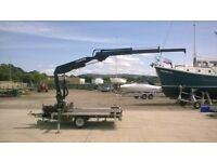 Hiab,crane,truck,lorry mounted,hot tub,lathe,transport,small crane,trailer,transit crane,mini,micro