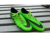 Nike footy boots size 7