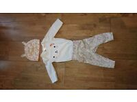 H & M baby girl outfit