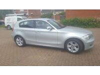 BMW 1 SERIES 116I PETROL LOW MILAGE GREAT CONDITION FULL SERVICE HISTORY MOT TIL FEB 17 5 DOOR