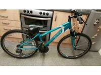 Ladies Mountain Bike 26inch wheel 14inch frame and 21 gears