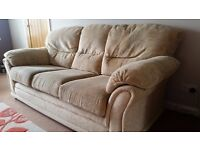 3 piece suite - REDUCED PRICE TO £50 FOR QUICK SALE