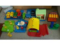 ELC Happy Land Track and accessories
