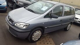 Vauxhall Zafira 1.6 Life MPV 5 Door Hatchback 2004, Only 104000 miles. FOR SALE £995 London