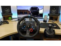 Logitech G29 WHEEL+PEDDLES+SHIFTER PS4 PC