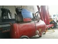 50 litre air compressor spares or repairs