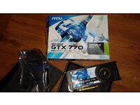 MSI GTX 770 FOR SALE