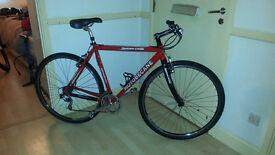 Motobecane Cyclocross bike carbon fork, XT/Ultegra groupset, 2 sets of wheels, super light and fast