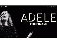 ADELE TICKETS STANDING 2ND JULY WEMBLEY