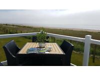-THE LAST LODGE WITH UNRESTRICTED SEA VIEW-AT SOUTHERNESS-near dumfries,carlisle,penrith,keswick