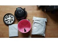 used hetty Henry Vacuum Cleaner 2 speed new filter new 3 Metre Hose new Brushes new