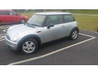 LOVELY 2003 BMW MINI ONE WITH MOT UNTIL APRIL 2019 ANT TAXED