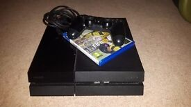 Ps4 Console with 1 Pad, Fifa 17 and all wires