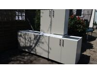 kitchen units cabinets PRONORM sterling grey colour high quality 6 month old