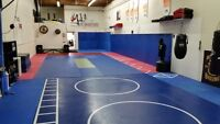 Fitness Area For Rent - martial arts gym - padded mat floors