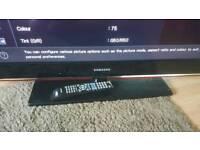 "40"" samsung 4080p lcd tv"