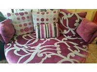 Fama 2 seater cuddle chair