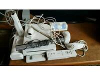 Wii console big bundle 9 games