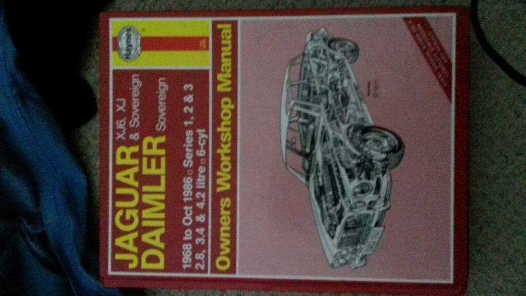 Jaguar Daimler workshop manual
