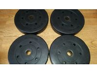 20kg vinyl weight plates