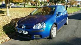 Volkswagen Golf 1.4 2005 Blue Hatchback