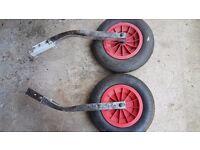 Folding Launching Wheels Dinghy Rib Inflatable