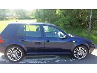 VW GOLF MK4 GTI 18 INCH ALLOYS MOTD MAY 18 NEW EXHAUST UNDERSEALED