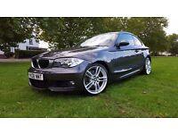 BMW 123d I-Drive, Heated seats, Full service history
