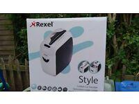 Rexel style confetti shredder