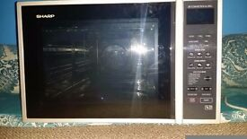 SHARP R959SLM Combination Microwave Oven - 40L (No Plate Inside)