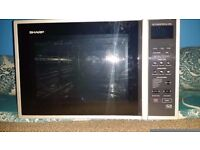 SHARP R959SLM Combination Microwave Oven - 40L (No Plate Inside)