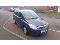2008 vauxhall zafira 1.6 breeze special edition 7 seater beautiful condition