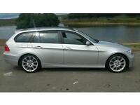 BMW 320d 55 plate