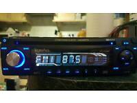INPHASE CAR CD MP3 AUX PLAYER