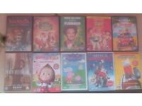 Kids/Family/Xmas DVDS 80+ Titles