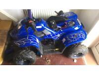 110 cc atv quad working