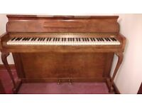 *Kemble Piano Walnut* Needs Tuning - Free to a good home - Collection only