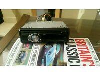 JVC mp3+AUX car radio 4 × 50W