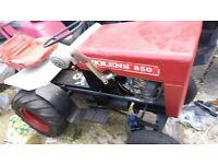 garden tractor bolens 850 good condition full working