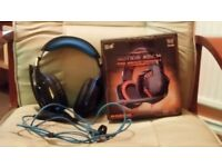 Gaming Headset with Blue LED's (PC ONLY)