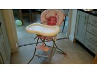 HIGH CHAIR - AS NEW