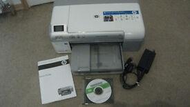 HP Photosmart D5460 Digital Photo Inkjet Printer. - Used.