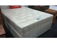 Kingsize Divan Bed with a Slumberland Mattress at British Heart Foundation Glasgow
