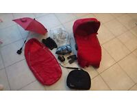 Quinny Buzz Rumour Red Pushchair