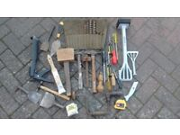Various Hand tools