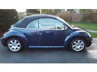 Vw beetle cabriolet sport 2004, 2.0 8v Tiptronic. 55755 miles. Mot till oct 17
