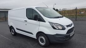 2014 LATE FORD TRANSIT CUSTOM 270 L1 H1 *ONLY 16500 MILES*