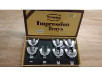 Dental Metal Impression Trays Autoclavable Stainless Steel
